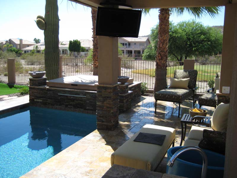 Backyard Pool Spas Ideas In Phoenix Az